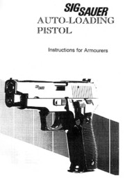 SIG Sauer Armorer's Manual : Free Download, Borrow, and Streaming
