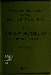 the history of israeli monarchy Gxms10 mfa about israel history history: biblical times bridged the period between loose tribal organization and the setting up of a full monarchy under his.