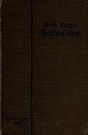 Handbuch der Farbenlehre