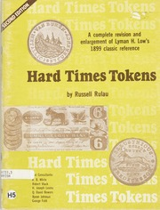 Hard Times Tokens, Second Edition
