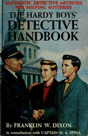 The Hardy boys detective handbook : Dixon, Franklin W : Free