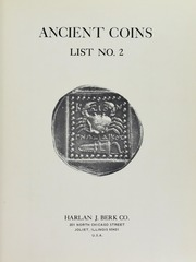 Harlan J. Berk Co. Ancient Coins List No. 2