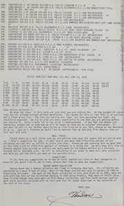 Harlan J. Berk, Ltd. 3rd Unrestricted Mail Bid Sale