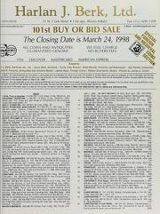 Harlan J. Berk, Ltd. 101st Buy or Bid Sale