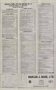Harlan J. Berk, Ltd. Mail Bid Sale No. 12