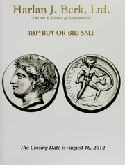 Harlan J. Berk, Ltd. 180th Buy or Bid Sale
