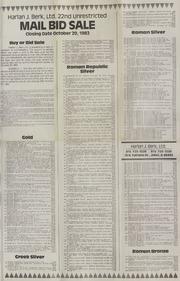 Harlan J. Berk, Ltd. 22nd Unrestricted Mail Bid Sale