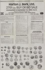 Harlan J. Berk, Ltd. 27th Mini Buy or Bid Sale