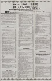 Harlan J. Berk, Ltd. 29th Buy or Bid Sale