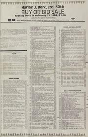 Harlan J. Berk, Ltd. 30th Buy or Bid Sale