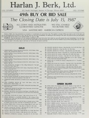Harlan J. Berk, Ltd. 49th Buy or Bid Sale