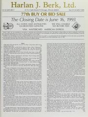 Harlan J. Berk, Ltd. 77th Buy or Bid Sale