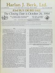 Harlan J. Berk, Ltd. 83rd Buy or Bid Sale