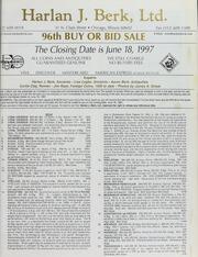 Harlan J. Berk, Ltd. 96th Buy or Bid Sale