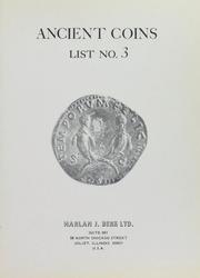 Harlan J. Berk, Ltd. Ancient Coins List No. 3