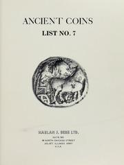 Harlan J. Berk, Ltd. Ancient Coins List No. 7