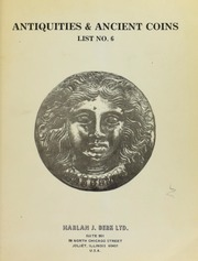 Harlan J. Berk, Ltd. Antiquities & Ancient Coins List No. 6
