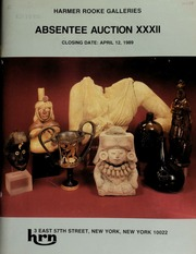 Harmer Rooke Galleries absentee auction XXXII. [04/12/1989]