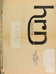 Harmer, Rooke Numismatists, Ltd.'s first minimum bid mail only auction sale. [03/31/1977]