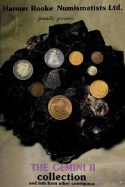 Harmer Rooke Numismatists, Ltd. presents the Gemini II collection ... [09/30/1980]
