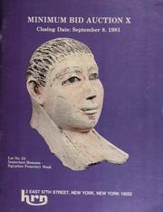 Harmer Rooke Numismatists, Ltd. minimum bid auction X. [09/08/1981]