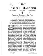 Harper's Monthly Magazine
