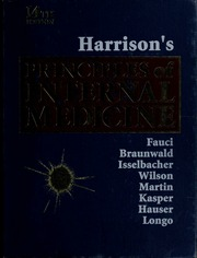 Internet Archive Search Harrison S Principles Of Internal Medicine