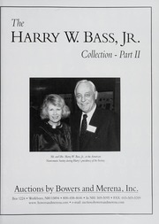 The Harry W. Bass, Jr. Collection: Part II (pg. 148)