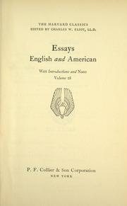 THE HARVARD CLASSICS - VOLUME 26 1909 Continental Drama