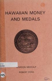 Hawaiian Money and Medals