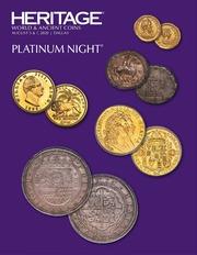 Hertage World & Ancient Coins Platinum Night