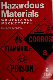 Hazardous materials compliance pocketbook jj keller and hazardous materials compliance pocketbook jj keller and associates inc free download borrow and streaming internet archive fandeluxe Image collections