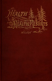 Health, and health resorts