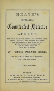 Heath's Infallible Counterfeit Detector at Sight (1-P-11)