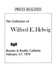 Wilfred E. Helwig Collection