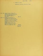 Henry E. Elrod Invoices from B.G. Johnson, September 23, 1940