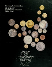The Henry F. Herrman sale, featuring coins from the collection of Henry F. Herrman ... [07/20-21/1979]
