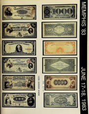 Herbert I. Melnick, Inc. proudly presents the Memphis international paper money auction ... [06/17-18/1983]