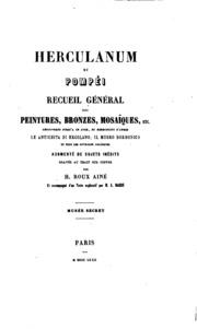 Herculanum et Pompéi: recueil général des peintures, bronzes, mosaïques, etc ...
