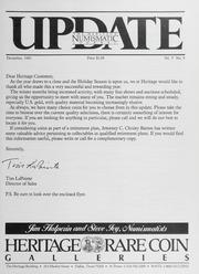 The Heritage Numismatic Journal Update: December 1985