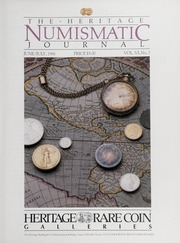 The Heritage Numismatic Journal: June/July 1986
