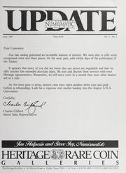 The Heritage Numismatic Journal Update: June 1985