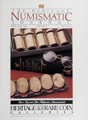 The Heritage Numismatic Journal: April/May 1986