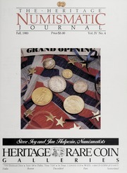 The Heritage Numismatic Journal: Fall 1983