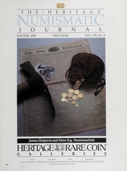 The Heritage Numismatic Journal: Winter 1987