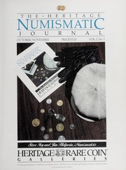 The Heritage Numismatic Journal: October/November 1986