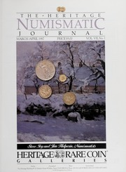 The Heritage Numismatic Journal: March/April 1987