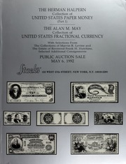 The Herman Halpern Collection of United States Paper Money Part I