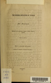 an essay on w in three epistles streaming  the higher education of w an address delivered at the opening of queen s college kingston session 1871 72
