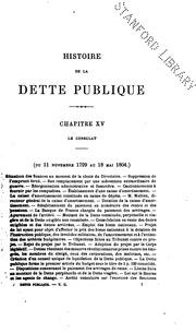 Histoire de la dette publique en France